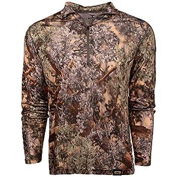 King s Camo Men s Standard Merino Wool Hunting Shirt Mountain Shadow Medium