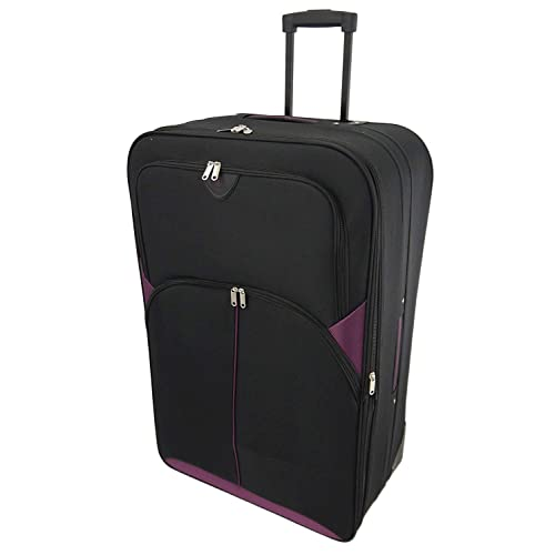 """441347574 32"""" Extra Large Super Lightweight Expandable Durable Hold Luggage Suitcase  Trolley Case in 2 Wheels"""