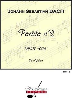 Bach Js Partita No 2 Bwv1004 Violin Solo Book