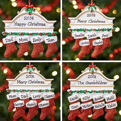 Décoration de Noël personnalisée avec une boule d'arbre de Noël