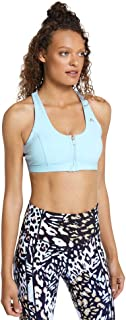 Rockwear Activewear Women's Mi Urban Jungle Zip Sports Bra From size 4-18 Medium Impact Bras For