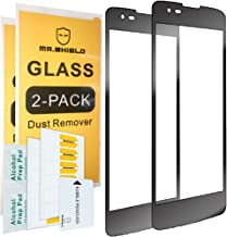 [2-Pack]-Mr.Shield for LG Treasure LTE 4G [Tempered Glass] [FullCover] [Black] Screen Protector with Lifetime Replacement