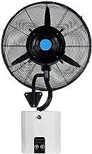 WLD Ventilador de refrigeración para ahorro de energía en el hogar - Ventiladores de pedestal Ventilador de nebulización oscilante montado en la pared interior/exterior grande Ventilador de pulveri