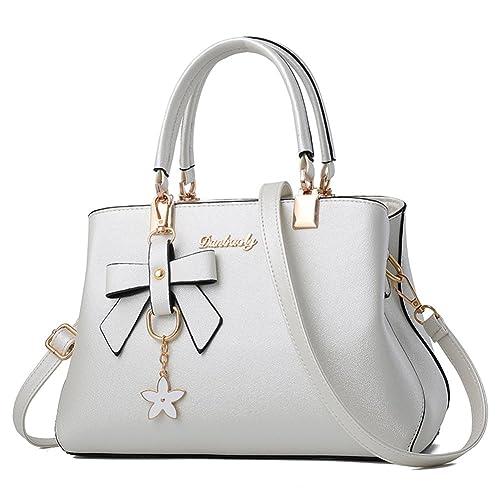 Barwell Women Top Handle Handbags Shoulder Bag PU Leather Tote Bags 61549911c2
