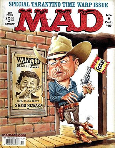 Mad Magazine (October, 2019) Special Tarantino Time Warp Issue