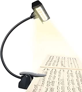 music stand light battery powered