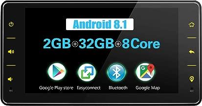 JOYFORWA Car Stereo 6.2 pulgadas Single Din Android 8.1 2GB+32GB con DSP/Easyconnect/Fast Boot/SPDIF