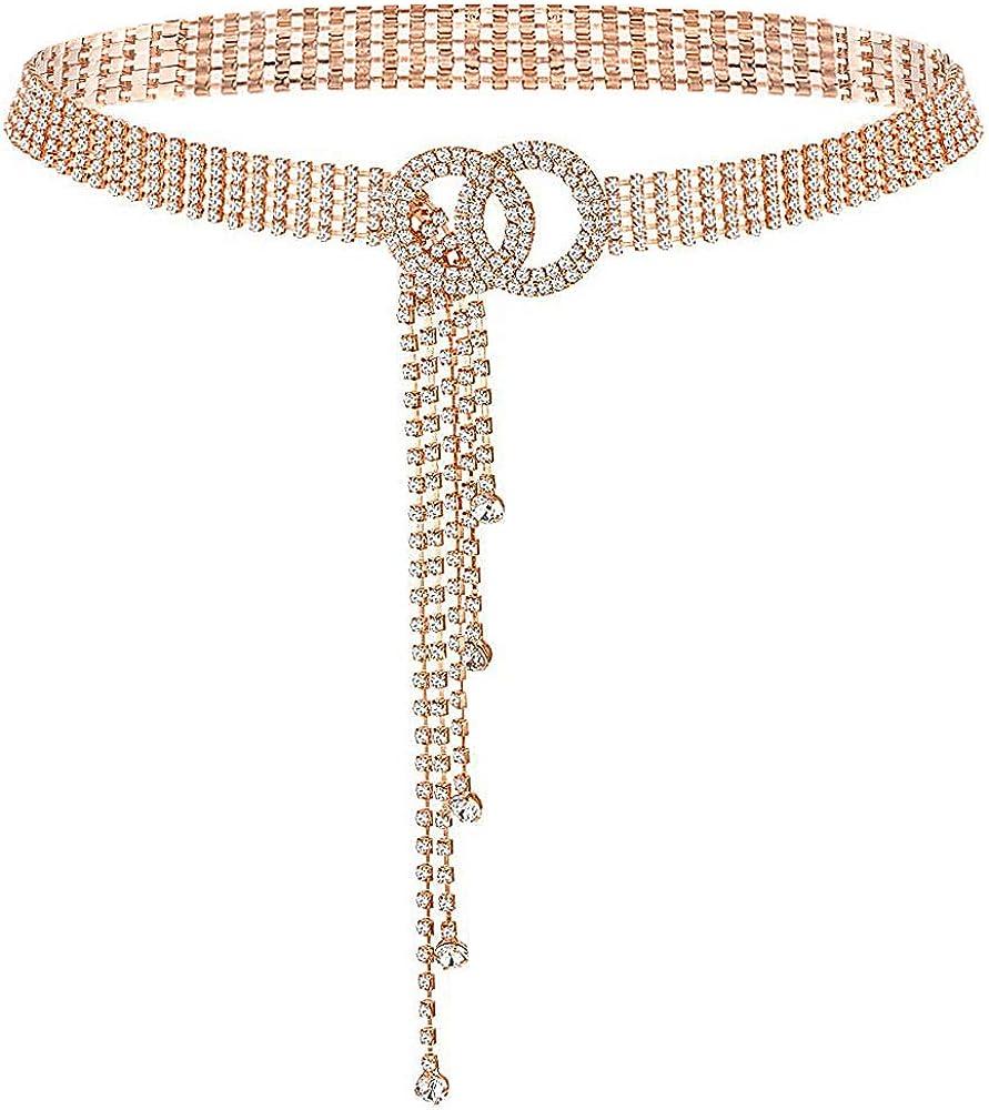 Glamorstar Crystal Belts for Rhinestone Women Direct sale of manufacturer Belt Waistband Selling and selling
