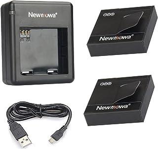 comprar comparacion Newmowa Batería de Repuesto (2-Pack) y Kit de Cargador Doble para Micro USB portátil para Xiaomi Yi Cámara(Sólo Compatible...