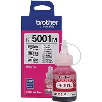 BROTHER Botella de tinta magenta BT5001M 5,000 Páginas, Talla unica