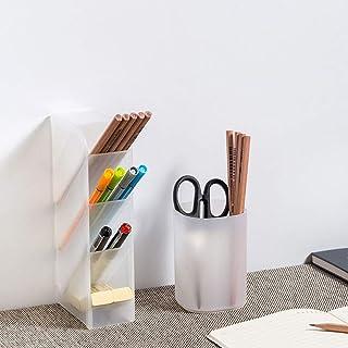 حامل القلم مربع مكتب وعاء القلم حامل قلم رصاص 2 قطعة مكتب منظم القلم تخزين للمكتب، المدرسة، المنزل