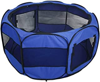 Lightweight Camping Tent, Pet Playpen Carrying Case Pet Fence Cat Dog Rabbit Delivery Room Teddy Breathable Mosquito Tent ...