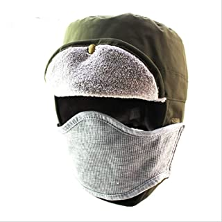 Hat Fashion Windproof Waterproof Unisex Ski Hat Balaclava Face Mask Motorcycle Face Shield Neck Warmer for Winter Outdoors Cycling Snowboarding Hiking Fashion Accessories