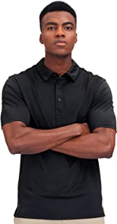 MIER Men's Golf Polo Shirt Short Sleeve Sun Protection Outdoor Sport Shirts Quick Dry