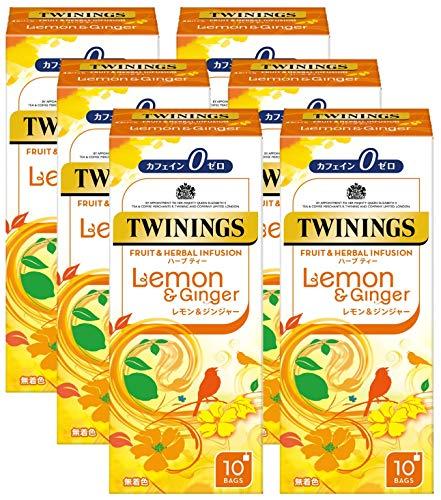 TWININGS(トワイニング)『フルーツ&ハーブインフュージョンレモン&ジンジャー』