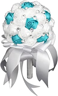 purple and turquoise quinceanera decorations