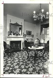 Vintage Photos 1978 Press Photo Parlor Room at Varner-Hogg State Park in Texas - hca56366
