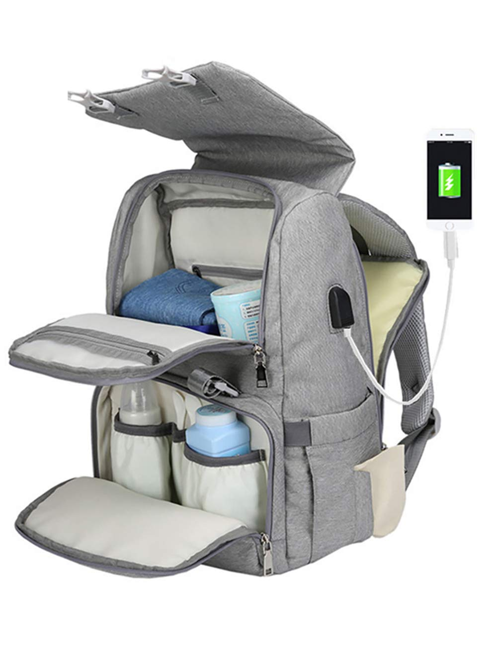 COCOCKA Backpack Changing Charging Stoller