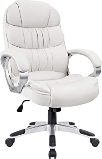 Homall Office Chair High Back Computer Chair Ergonomic Desk Chair, PU Leather Adjustable..