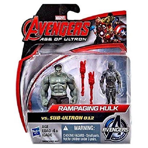 Marvel Avengers Rampaging Hulk vs Sub-Ultron 012