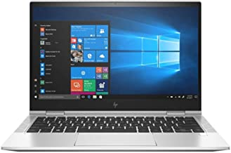 "HP 13.3"" EliteBook x360 830 G7 Laptop, Intel Core i5-10210U Quad-Core, 16GB RAM, 256GB SSD, Windows 10 Pro (1D0F1UT#ABA)"