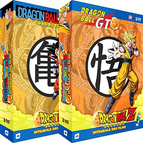 Dragon Ball, Z & GT - Intégrale des Films - 2 Coffrets (10 DVD)