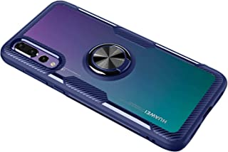 8869dd6283f SORAKA Funda para Huawei P20 Pro,Transparente Carcasa con Soporte para  Anillo,Compatible con