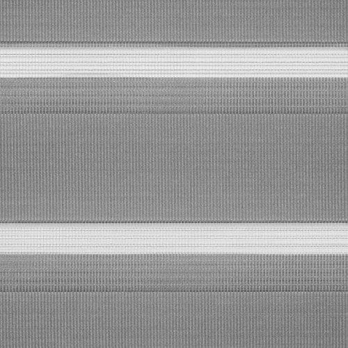 Doppelrollo Grau LICHTBLICK - 7