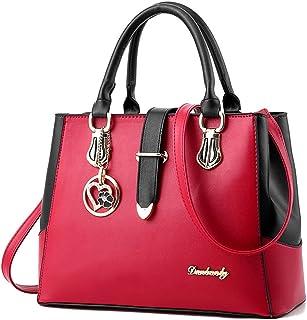 IMBETTUY Ladies Handbags Women Bags Tote Crossbody Bags Fashion Hobos Shoulder Bgas PU Leather Bags Messenger Bag Casual Girls School Bags Top Handle Bags Big Bags