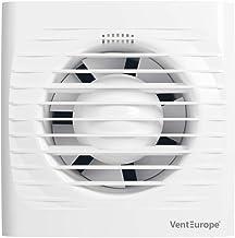 Ventilador extractor de baño aire 100 mm Silencioso con vá