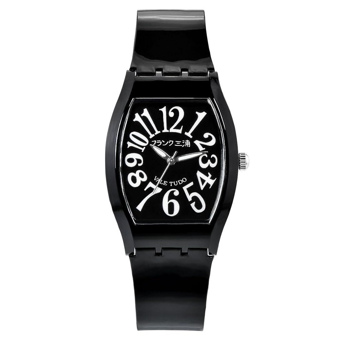 不定居住者化石[フランクミウラ] 腕時計 FM10K-B ブラック
