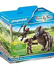 PLAYMOBIL 70360 gorilla med bebisar, från 4 år