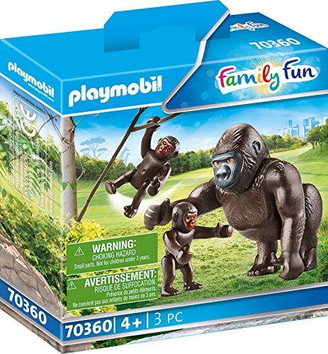 Playmobil Family Fun 70360 - Famiglia di Gorilla, dai 4 anni
