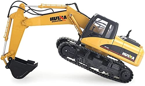 HuiNa Toys1550 15Channel 2.4G 1 12RC Metal Excavator Charging RC Car by HuiNa