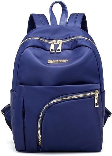 Nylon Weißiche Doppel Umh etaschen wasserdicht Leisure Travel Bag Elegant und vielseitig Rucksack C