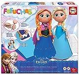 Educa Borrás Fofuchas - Set con diseño Elsa y Ana de Frozen 16456