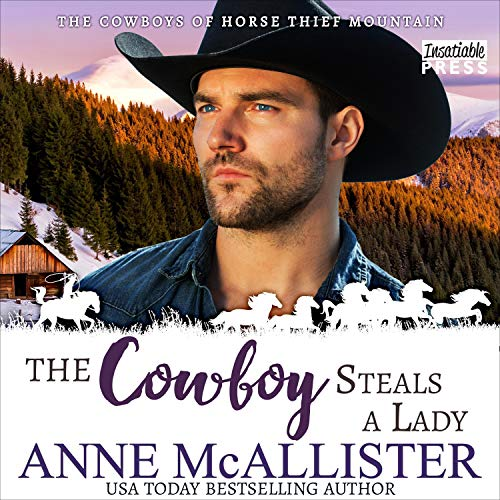 The Cowboy Steals a Lady cover art