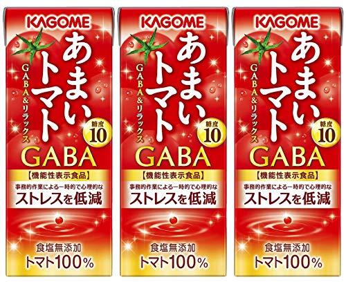 カゴメ あまいトマト GABA&リラックス 195ml