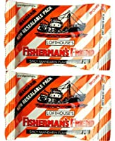 Fisherman's Friend Spicy Mandarin Fravour Lozenges Sugar Free Candy 25g. (Lot 2 packs) by Fisherman's Friend