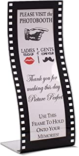 Acrylic Wavy Film Photo Booth Frame Curved Hollywood style Photo booth frame (24)