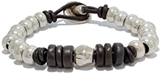 "Bracciale con pietra naturale""Onix"", fatti a mano da Intendenciajewels - Bracciali pietre naturali - bracciali onice donna..."