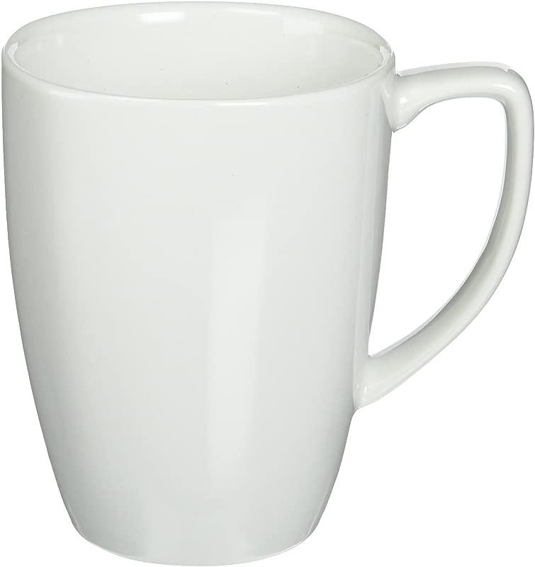 Corelle 1 Square 12 Ounce Mug Pure White Set Of 4 12 Ounce