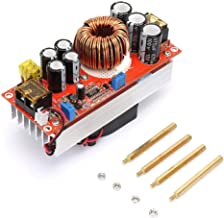 1500W 30A DC-DC Boost Converter, Step Up Power Module Constant Current Adjustable Power Voltage Widely Used for High Power Solar Street Lamp Driving