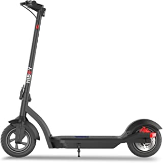 """Hiboy MAX3 Electric Scooter, 350W Motor 10"""" Pneumatic Off Road Tires Up to 17 Miles & 18.6 MPH, Adult Electric Scooter for..."""