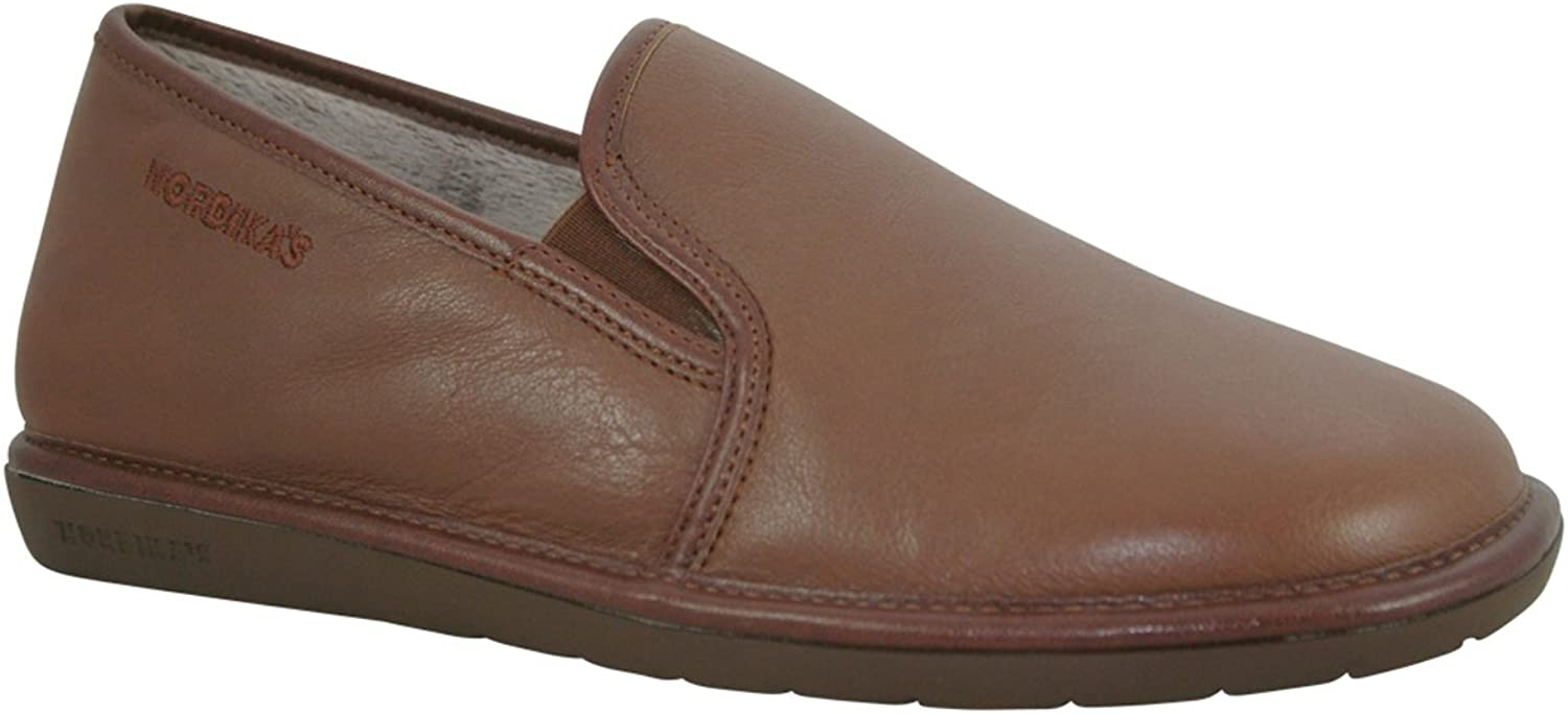 Nordika 663 Mens Slippers - Brown - UK 7   41 EU