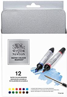 Winsor & Newton Water Color Markers Set of 12 0290001