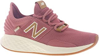 New Balance Chunky Sole Lace-Up Textile Running Shoes For Women - Cashmere