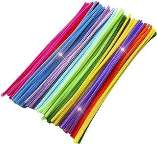Artibetter — 200 peças de limpadores de cachimbo de pelúcia para crianças, faça você mesmo, artesanato, decorações, projet...