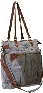 Myra Bags USA Journey Upcycled Canvas Shoulder Bag M-0735
