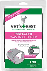 Vet s Best Perfect Fit Washable Female Dog Diaper, 1 count